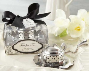 Teapot teas infuser wedding reception favors