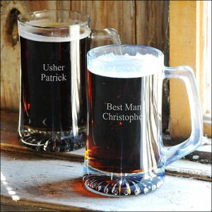 Customized beer mug