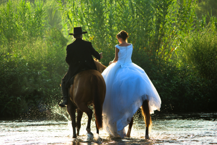 Cowboy Bride Groom