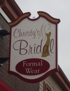 Christy's Bridal and Formal Wear, Located in Burlington, Wisconsin