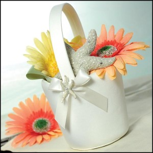 Beach Collection Flower Basket