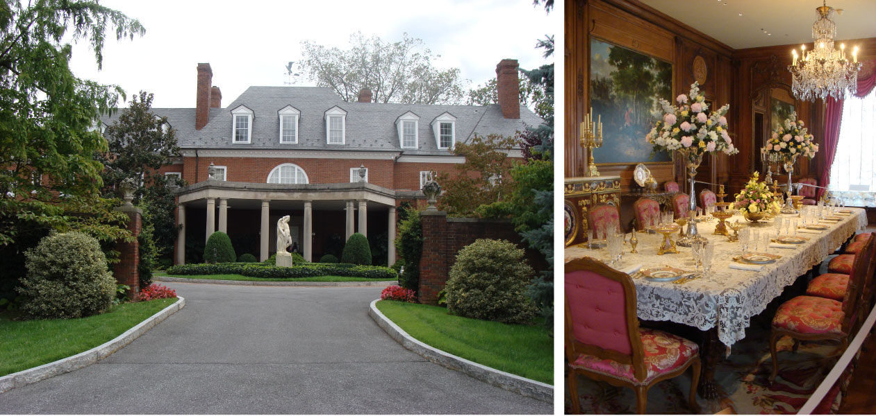 Hillwood Estate and Wedding Luncheon