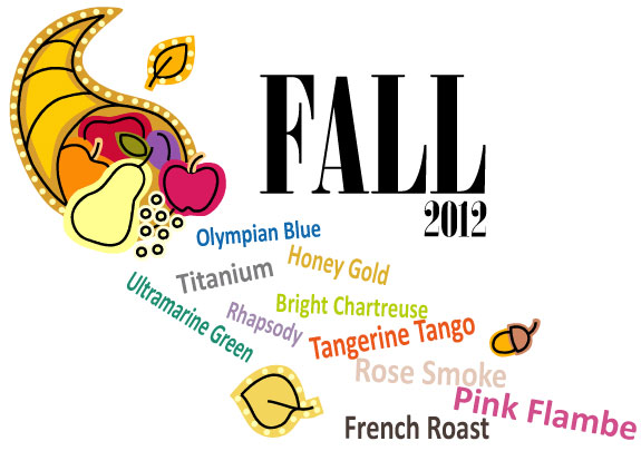 fall 2012 pantone color