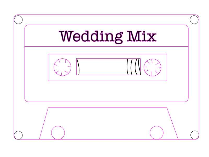 Wedding Music Mix Tape