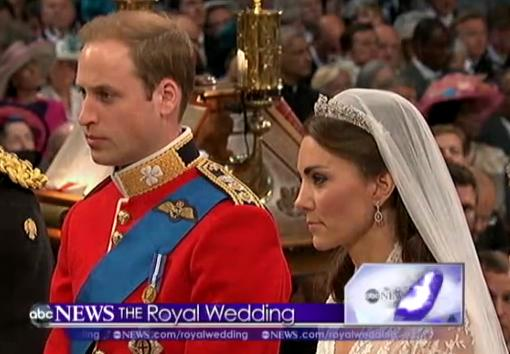 Will and Kate Wedding Ceremony